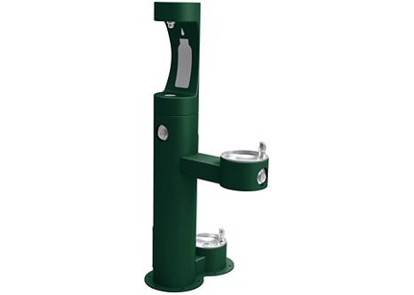 EZH2O watertappunt buiten, outdoor water tappunt met waterfles vulstation